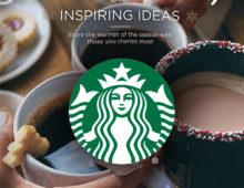 Starbucks Holiday Print Ad